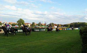 Einlauf Rennen 8: Scheibenholz-Cup