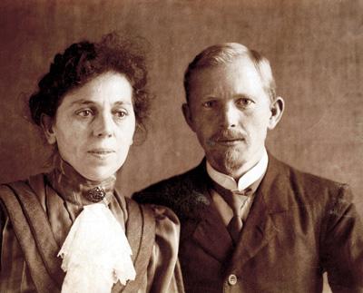 Johannes Mühler und seine Frau Anna