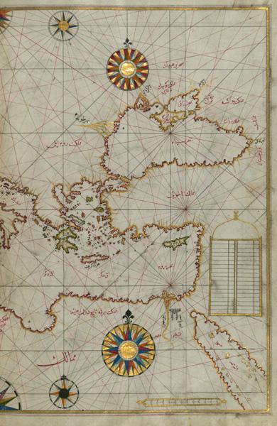 Karte des Piri Reis